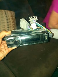 black and gray car stereo. Buy or trade for cell p Radcliff, 40160