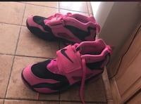 pair of pink-and-black Nike basketball shoes Roanoke, 24017