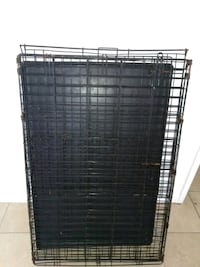 black metal folding dog crate Tucson, 85711