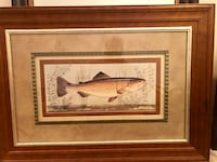 brown and white fish painting Jacksonville, 32226