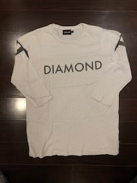 Diamond Supply 3 Quarter Long Sleeves SIZE L