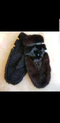 Real mink fur mittens Niagara-on-the-Lake, L0S 1J0