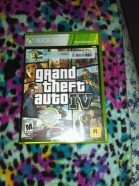 Grand Theft Auto IV Xbox 360 game case Visalia, 93277