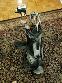 Golf bag with 15 clubs. Hunterdon County, 08551