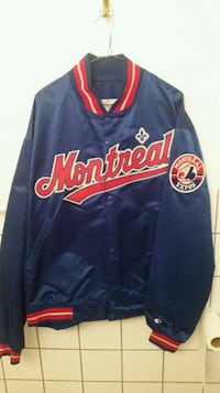Montreal Expos 1994 Dugout Jacket  Montreal, H4N 1L4