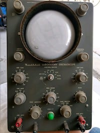 Vintage heathkit laboratory oscilloscope  Sunrise