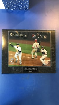 YANKEES 2009 WORLD SERIES PLAQUE *FINAL OUT* Mooresville, 28117