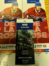 Montreal Canadiens Tickets (Game Day Price) Laval, H7V 4A7