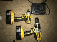 Dewalt 18v XRP drill and impact with charger and 2 batteries  Anchorage, 99503