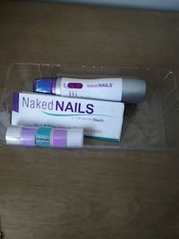 Unused Manicure tools - Naked Nails  Edmonton, T5A 1X4