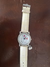 Hello kitty watch  with white leather strap Severn, 21144