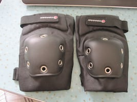 Brand New Kranked Sports Hard Shell Elbow Pads