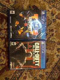 two Sony PS4 game cases Rosemead, 91770