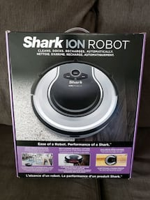 SHARK ION ROBOT!! - LIKE NEW!!
