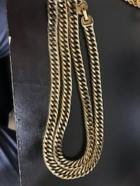 Gold plated cuban chain Brampton, L7A