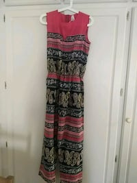 women's black and red sleeveless dress Los Angeles, 91367