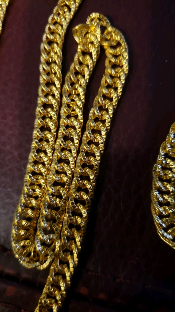 18k GOLD FILLED CHAIN NECKLACES & BRACELET NEW abaa6a0f-12cc-459f-b2c1-01ede721c222