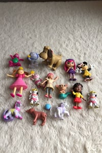 Assorted Character Figures Toys Princess Animals Friends