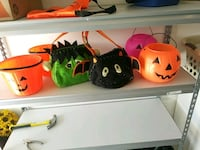 Plastic and clothe Halloween buckets and bags  Hagerstown, 21740