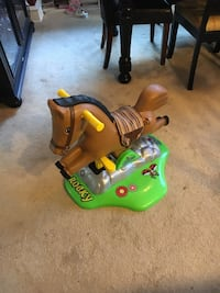 Rocky rocking horse by peg perego ride all day