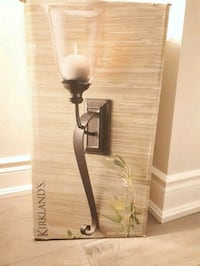 Rustic wall sconce (Only one)