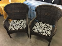 Pair of resin wicker chairs Daytona Beach, 32117