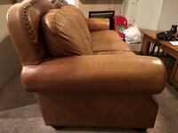 Leather loveseat and couch  North Las Vegas, 89032