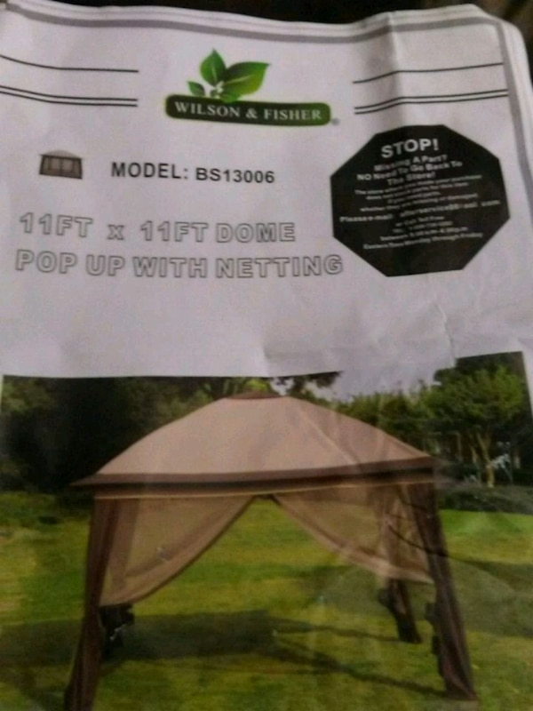 brown Wilson & Fisher canopy pack