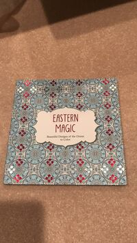 Eastern Magic colouring book -great for meditation! Vancouver, V5Z 2R2