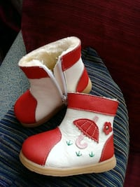 New Leather baby boots Toronto, M3C 1J4