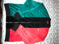 green and red v-neck shirt Los Angeles, 91405