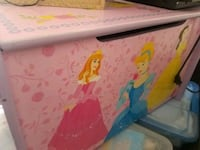Princess toy chest Hacienda Heights