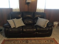 Sofa bed leather  Downey, 90240