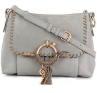 See by Chloe Small Joan in Grey with Rope Whipstitch Toronto