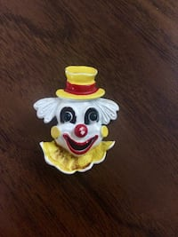 Gerry's 1950's clown broach Toronto, M6J 2K2