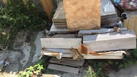 Pilot of assorted ceramic and porcelain tile. This is a steal for anyone wanting tile!!