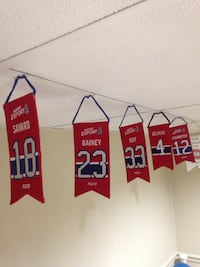 Montreal Canadiens mini banners Mississauga, L5V 1C4