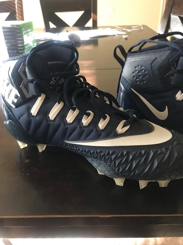Football cleats. Practically new Size 10