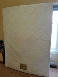 quilted white and gray mattress Bramalea, L6T 4L7