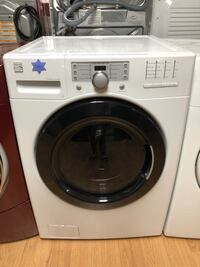 Kenmore white front load washer  Woodbridge, 22191