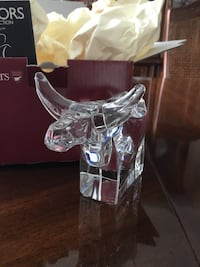 Orrefors Crystal (Animal Collection) Ox figurine Coquitlam, V3B 6X6