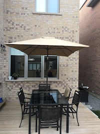 Moving sale! 8 piece patio set $500 Oakville