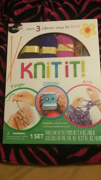 Knit it craft set Guelph, N1G 1S7