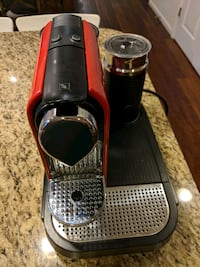 Nespresso Type C121 with milk frother and cap tray Ashburn