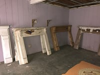 Vintage wooden fireplace mantles. Various sizes. $175-$325 cheshire ct Cheshire, 06410