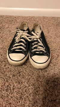Pair of black converse all-star low-top sneakers Conway, 72034