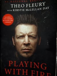Playing with Fire by Theo Fleury book