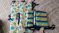 Crib bumpers and fisher price crib mobile Sunnyvale