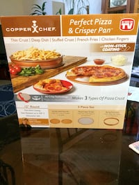 As seen on TV - Copper Chef Perfect Pizza & Crisper Pan Burtonsville, 20866