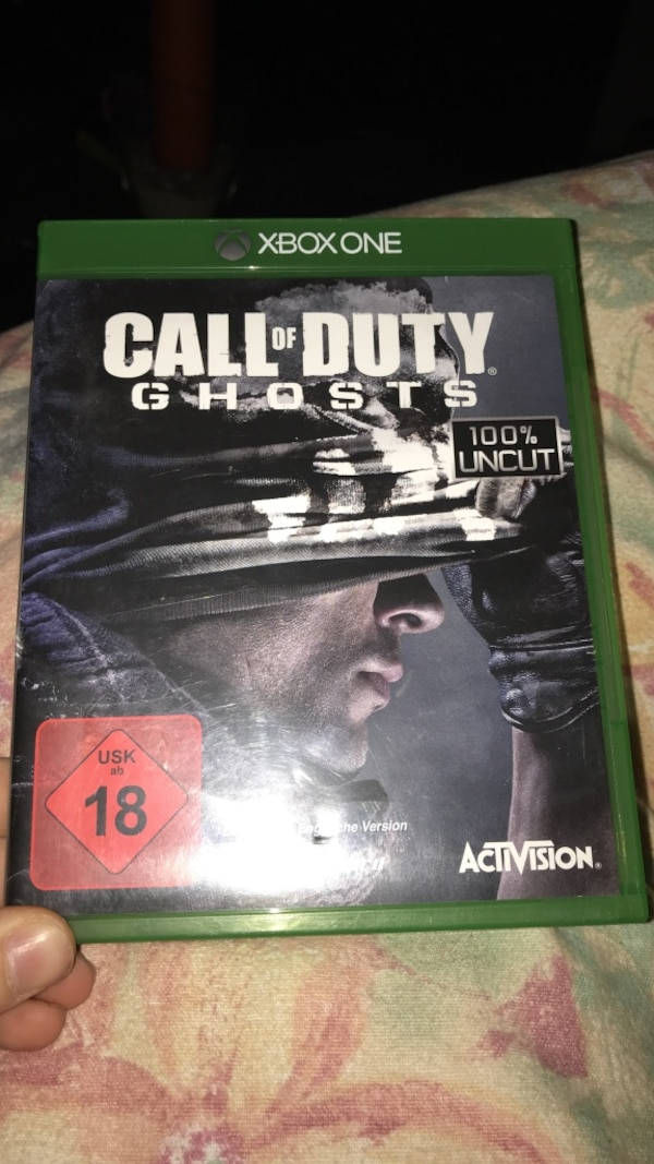 Call of Duty Ghosts Xbox One Spieletui